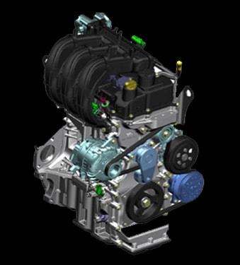 Motor 1200cc - Mahindra Costa Rica